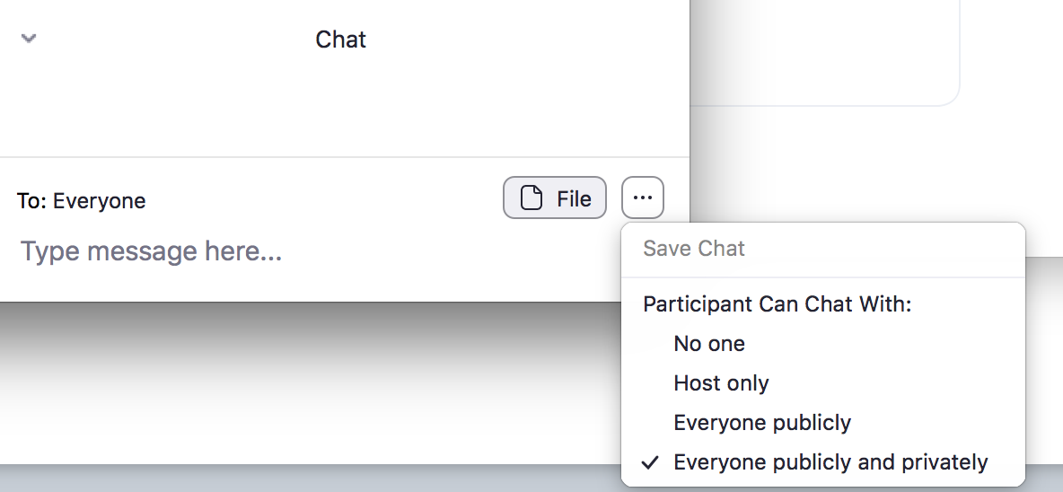 Chat Features